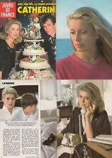 Jours de France Catherine Deneuve,Caroline von Monaco,Johnny Weissmuller