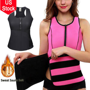 a8b2e7f2bd Image is loading Women-Waist-Trainer-Vest-Gym-Workout-Slimming-Neoprene-