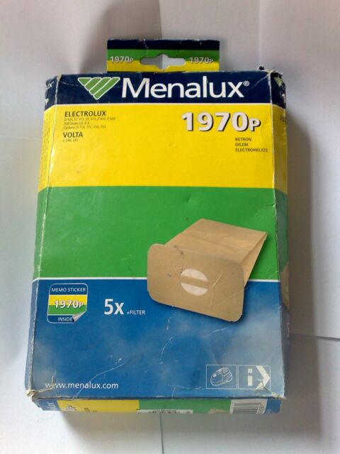 5 x Menalux 1970p Vacuum Cleaner Bags for Electrolux