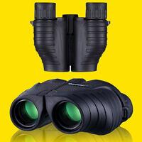 Us Qanliiy Paul 10x25 Hd Night Vision Binoculars Telescope Travelling Match Tour