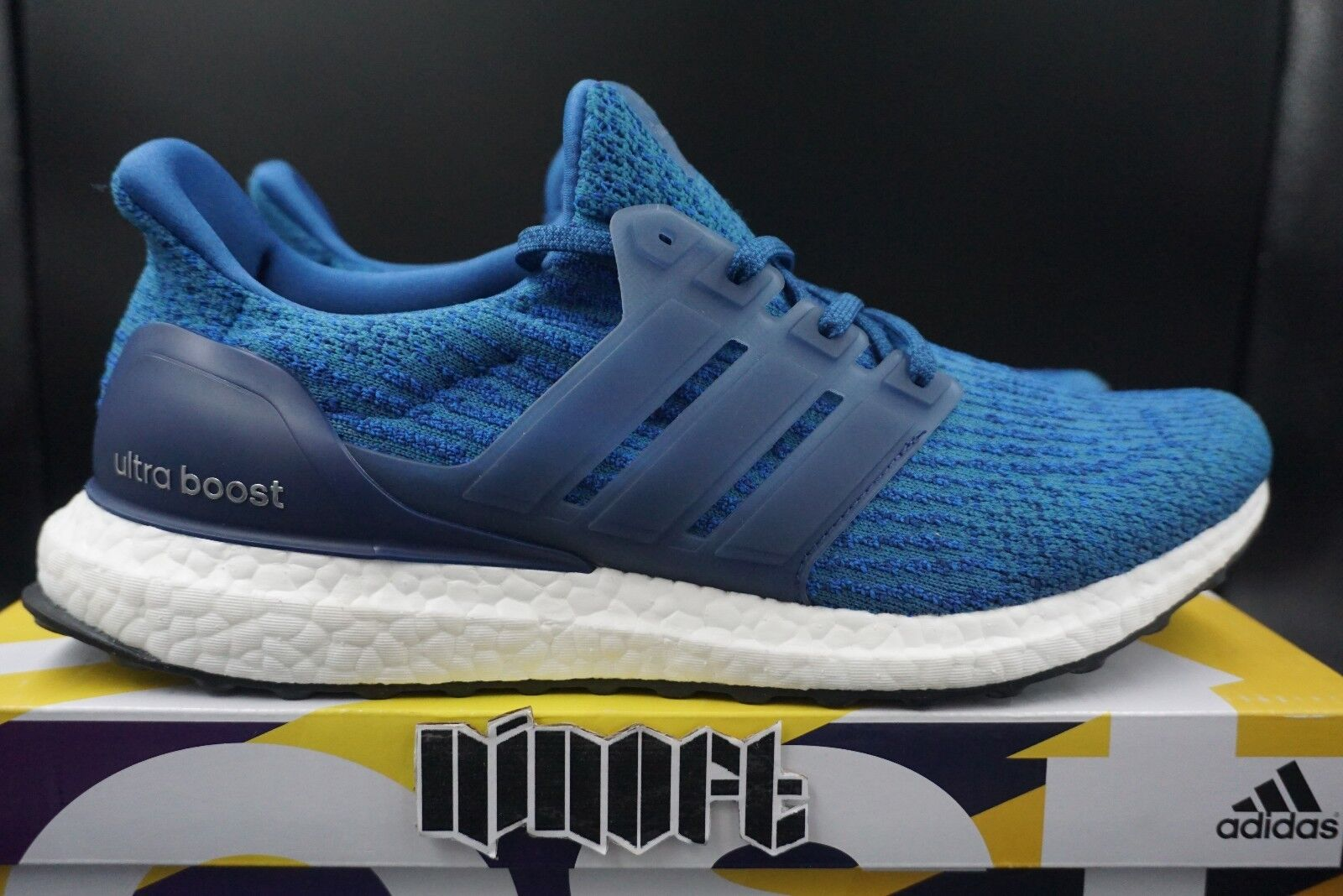 watch ea1ba 70cd5 Adidas Ultra Boost 3.0 Royal Mystery Bleu BA8844 new in box