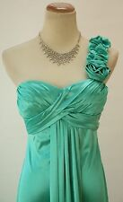 Masquerade USA Grand Mint Evening Prom Formal Cruise Long Dress size 7 Cocktail