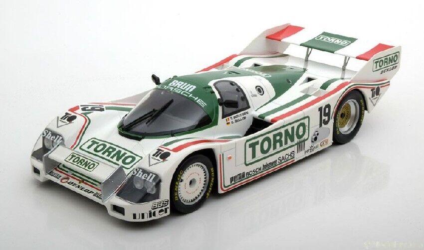 Porsche 962 C  19 3rd 1000 HM MUGELLO 1985 S Bellof T. Boutsen 1 18 MODEL