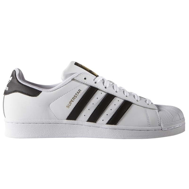 Adidas hombre Superstar Bianca Nera Zapatos hombre Adidas mujer Adulto Sneakers C77124 8c4b4f