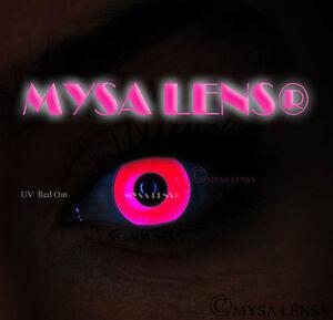 Crazy-UV-Ultra-Violet-Coloured-Contact-Lenses-Kontaktlinsen-Red-Out-UV