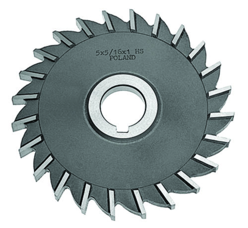 """Straight Tooth 4 x 9//32 x 1/"""" HSS Side Milling Cutter"""
