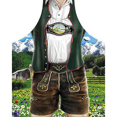 Grillschürze Küchenschürze Dirndl Geburtstag Kostüm Bayern Tracht Fun Schürze