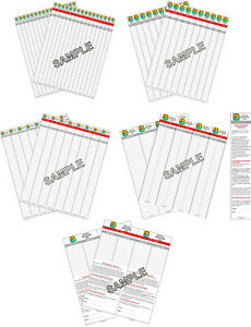 Practical-Geocaching-Logs-3-or-5-PAGES-of-a-Size-RITR-1-2-3-4-1-2-4