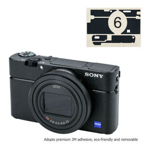 Anti-Scratch-Leather-Camera-Body-Skin-Film-Cover-Protector-for-Sony-RX100-VI-M6