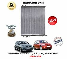 Para Citroen C2 + C3 1.1 1.4 1.6 Vts híbrido Manual 2002 -- > Nuevo raditor Unidad