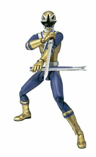 Power rangers samurai s.h. figuarts exklusive action - figur shinken Gold