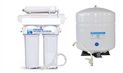 Premier Home Reverse Osmosis Drinking Water System 150 GPD Made in USA RO5150WE
