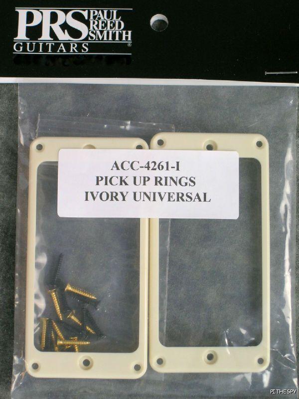 Anillos de de de recogida de guitarra PRS Ivory Universal Stoptail trémolo Paul Reed Smith SE 815fe8