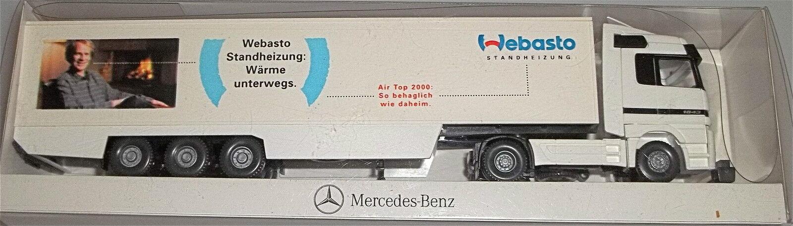 Webasto Calefacción Auxiliar Mercedes Benz Vehículo Publicitario a Escala Wiking