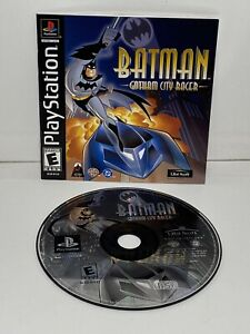 BATMAN-GOTHAM-CITY-RACER-AUTHENTIC-SONY-PLAYSTATION-1-2001-VIDEO-GAME-TESTED