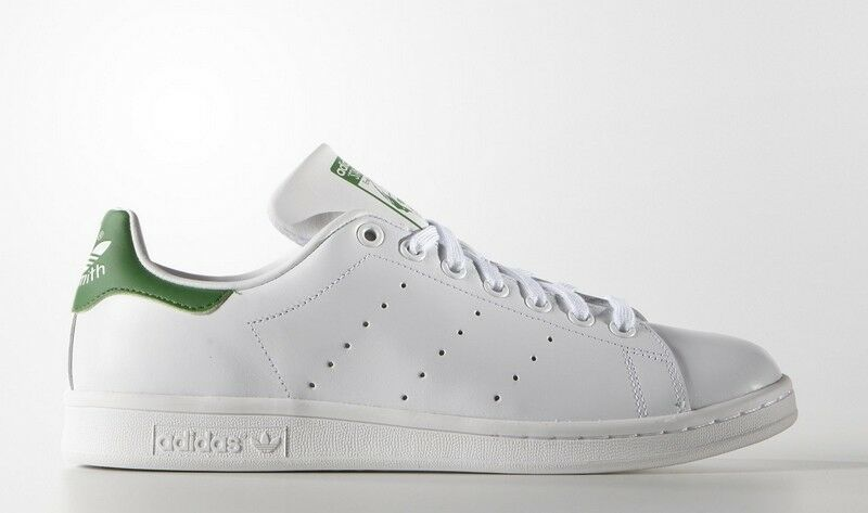 Sneakers M20324 Zapatillas Adidas Stan Smith Blanco y Verde Hombre