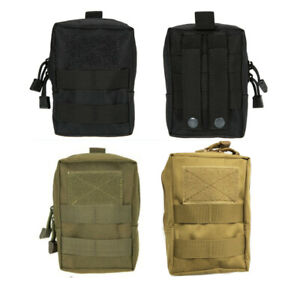 a274b4e558ff Details about Outdoor Tactical Molle Bag EDC Belt Pouch Military Waist  Fanny Pack Phone Pocket