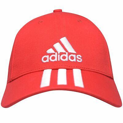 mientras tanto Mansedumbre Pedicab  NEW 2020 UNISEX Adidas Performance 3 Stripes Training Cap Hat Red | eBay