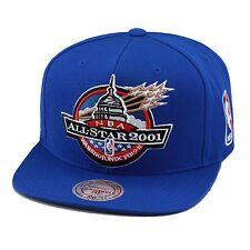 "Mitchell & Ness NBA All Star Game Snapback Hat Cap 2001 ""Washington DC"" wizards"