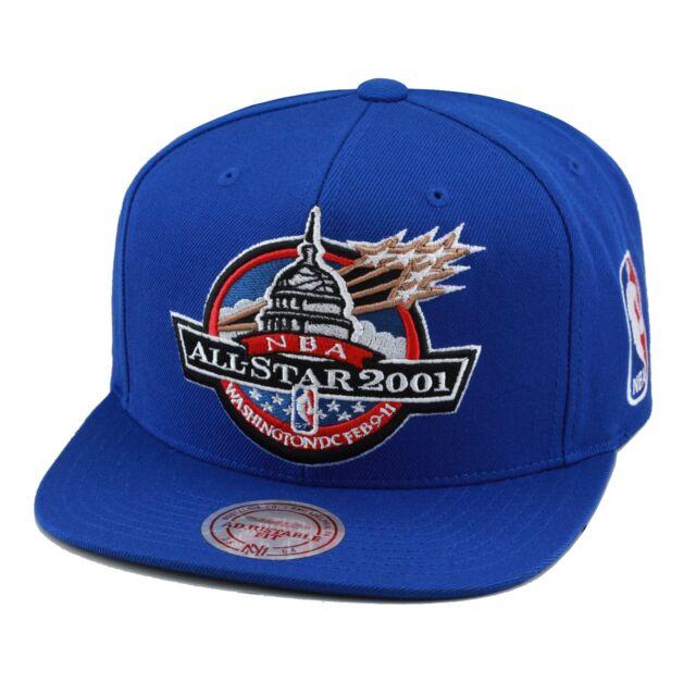 bdc2dde3029 Mitchell   Ness NBA All Star Game Snapback Hat Cap 2001