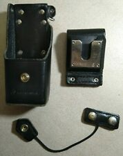 Motorola Ntn8386b Leather Radio Holster With Belt Loop And T Strap Made In Usa