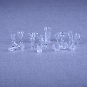 17pcs-Tazas-de-Helado-en-Miniatura-Transparente-Casa-de-Munecas-Cocina-Juguete
