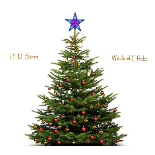 DEL de Noël étoile 22 cm Advent étoile Fensterdeko plastique 220 V//2 W DECO