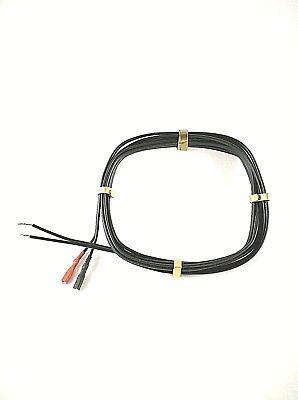 Fahrrad Lichtkabel 2100 Mm 2 Kabelschuhen Doppelader Dynamo Kabel Fahrradlicht
