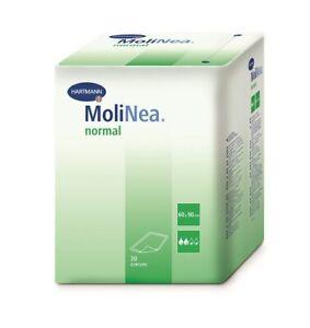 Molinea normal, Zellstoffflocken (60 x 60 cm) Krankenunterlagen - (120 Stück)