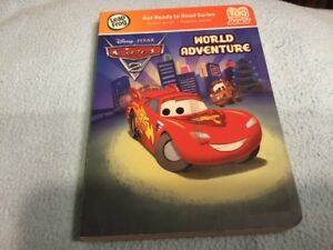 Leap Frog Tag Junior Disney Cars 2 Book World Adventure Cars 2 Book