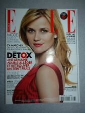 Magazine mode fashion ELLE french #3393 7 janvier 2011 Reese Witherspoon