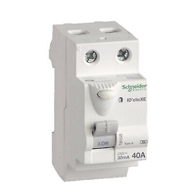 16158 DuoLine XE interrupteur diff ID/'clic 2P 40A embrochable 30mA type A