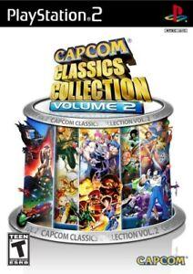 20-PS2-GAMES-CAPCOM-CLASSICS-COLLECTION-2-w-SF-II-NEW