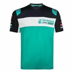 Petronas-Yamaha-Motogp-Team-Printed-T-Shirt-New-Official-Merchandise