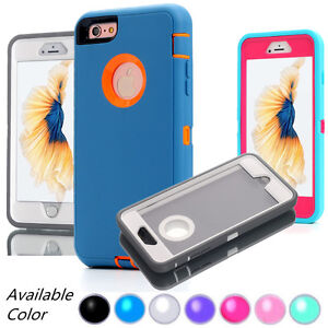 Protective-Hybrid-Shockproof-Hard-Armor-For-iPhone-7-8-Plus-XS-MAX-XR-Case-Cover