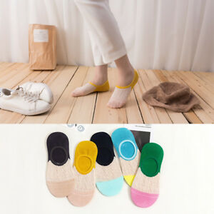 5-10-Pairs-Womens-Bamboo-Soft-Invisible-No-Show-Liners-Low-Cut-Nonslip-Socks