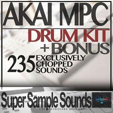 AKAI MPC Drum Kit vinyl beats mpc60 SP1200 MV8800 MPC 2500 5000 1000 samples