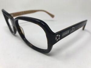 91d075afc813 COACH Ciara Sunglass Frame HC8016 5033/13 57-15-130 Tortoise RE73 | eBay