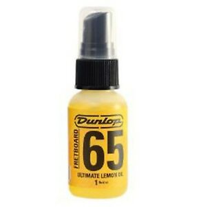 Jim-Dunlop-Guitar-Fretboard-Lemon-Oil-Cleaner-SPRAY-BOTTLE-1-Fluid-Ounce