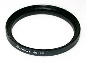 49mm to 62mm Step up Ring Filter Stepping Adapter Sonia 49 62