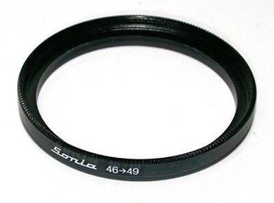 LUMOS 55-58 mm Filter Adapter Step up Ring Objektiv Zubehör Ø 55mm auf 58mm