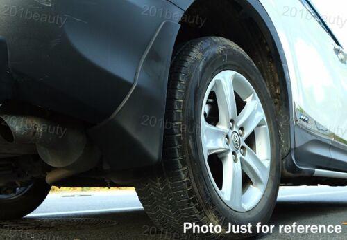 New 4 Car Mud Flaps Splash Guard Fender Mudguard For Ford Fusion Sedan 2013-2019