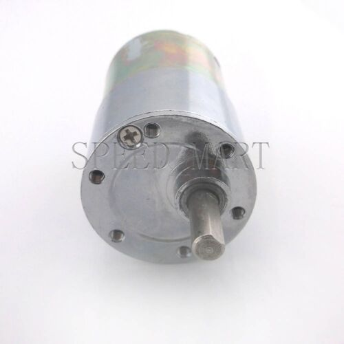 Reversible 37mm 24V DC 600 RPM Gear-Box Speed control Electric Motor Low noise