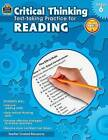 Critical Thinking: Test-Taking Practice for Reading, Grade 6 by Julia McMeans (Paperback / softback, 2014)