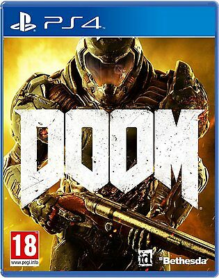 DOOM PS4 Game (PRE OWNED) (USED) Excellent Condition