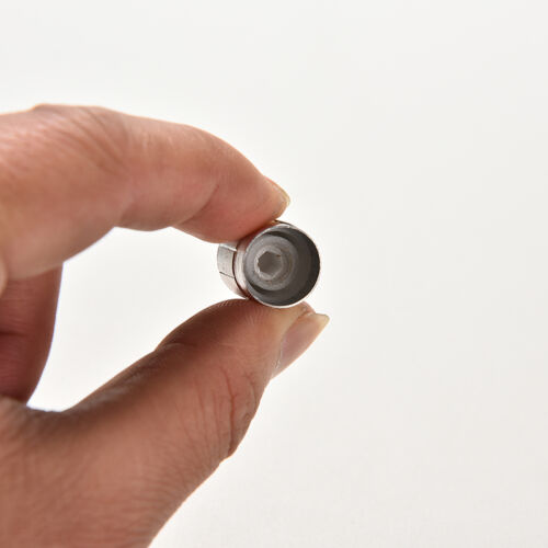 10X Aluminium Knopf Drehschalter Potentiometer Lautstärkeregler Zeigerloch 6OOC