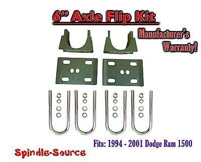 "DODGE RAM 1500 1994-1999 REAR LOWERING DROP KIT 1/"" OR 2/"" DROP SHACKLES 2WD USA H"