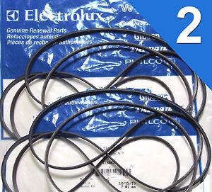 (2 PACK) 134503600 Frigidaire Kenmore Dryer Belt OEM Genuine NEW
