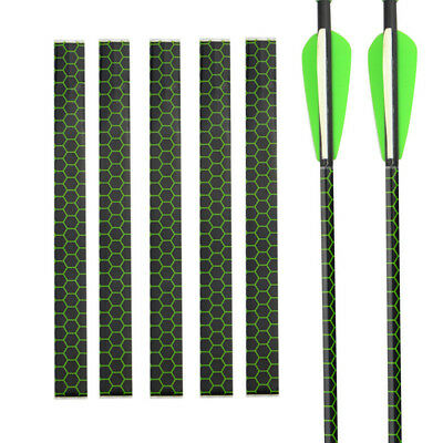 15pcs Archery Arrow Wraps Heat Shrinkable Arrow Wrap 1mm or Outdoor Hunting