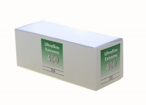 10 Rolls Ultrafine Xtreme Black /& White 120 Film ISO 400 B /& W FRESH 07//2023